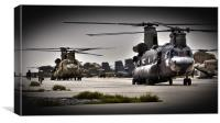 Ch47 Aircraft Chinook Helicopter, Canvas Print