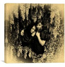 British Gothic#6: The Babes In the Wood (Sepia), Canvas Print