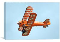 Breitling Wing Walkers, Canvas Print