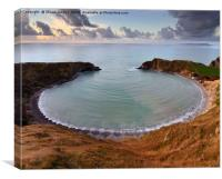 Lulworth cove , Canvas Print