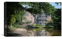 packet house worsley, Canvas Print