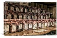 Old Sweet Shop, Canvas Print