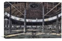 The Roundhouse, Canvas Print