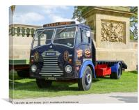 1955 Sentinel DV4/4 flatbed in the livery of R.A &, Canvas Print
