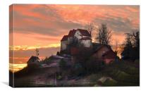 House Of The Rising Sun, Canvas Print