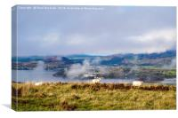 Northern Rhinogs of Snowdonia, Canvas Print