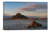 st.michaels mount cornwall, Canvas Print