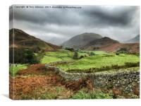 Hallin Fell , Canvas Print