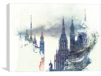 Magical Westminster, Canvas Print