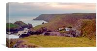 Looking Across Kynance Cove, Canvas Print