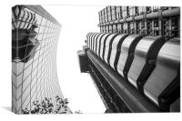 The Lloyds Building, Canvas Print