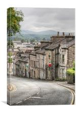 Kendal town, The Lake District, Canvas Print