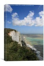The White Cliffs of Dover, Canvas Print