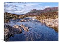 Glen Feshie, Canvas Print