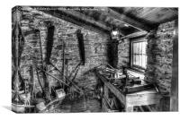 Victorian Tool Shed., Canvas Print