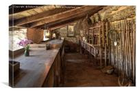 In the Potting Shed 2, Canvas Print