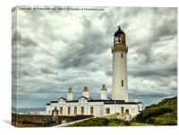 Mull of Galloway Lighthouse 3, Canvas Print
