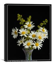Wild Flowers in a Vase, Canvas Print