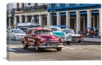 Frame of old timers, Canvas Print