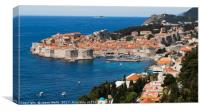 The pearl of the Adriactic, Canvas Print