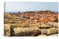 Rooftops of Dubrovnik's old town, Canvas Print