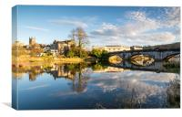 Totnes, Devon, Canvas Print