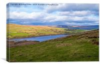 Semerwater, North Yorkshire., Canvas Print