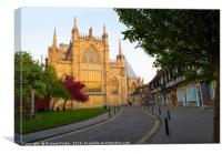 York Minster., Canvas Print