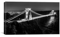 Clifton Suspension Bridge, Bristol, Canvas Print
