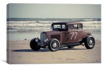 Ford Hot Rod , Canvas Print