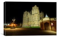 Wells Cathedral Somerset England, Canvas Print