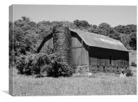 This Old Barn, Canvas Print