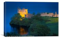 Urquhart Castle Evening, Canvas Print