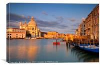 Sunrise over Venice, Canvas Print