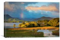 Lough Lean, Killarney National Park, Ireland, Canvas Print