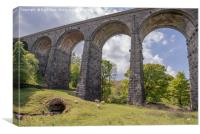 Dent Head Viaduct in Yorkshire, Canvas Print