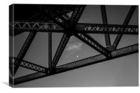 Moon from the Story Bridge, Canvas Print
