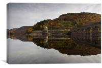 Autumn colours in the Elan Valley, Canvas Print