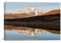 Reflections of Blaven, Canvas Print