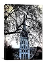 Norwich Cathedral Norfolk UK, Canvas Print