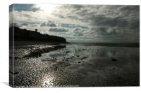 Hunstanton Reflections, Canvas Print