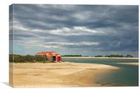 Wells next the Sea Lifeboat Station, Canvas Print