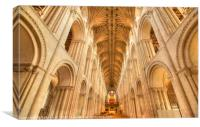 Norwich Cathedral , Canvas Print