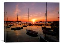 A little piece of Poole., Canvas Print