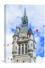 West Tower of the new Town House on Union Street, , Canvas Print
