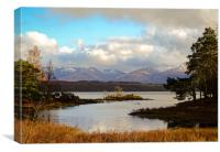 The Scottish Landscape, Canvas Print