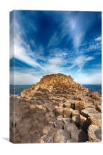The Giant's Causeway, Canvas Print