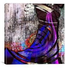 One Boot, Canvas Print