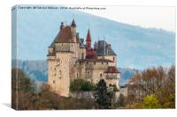Medieval Castle, Canvas Print