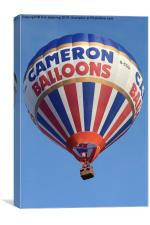 Cameron Balloon, Canvas Print